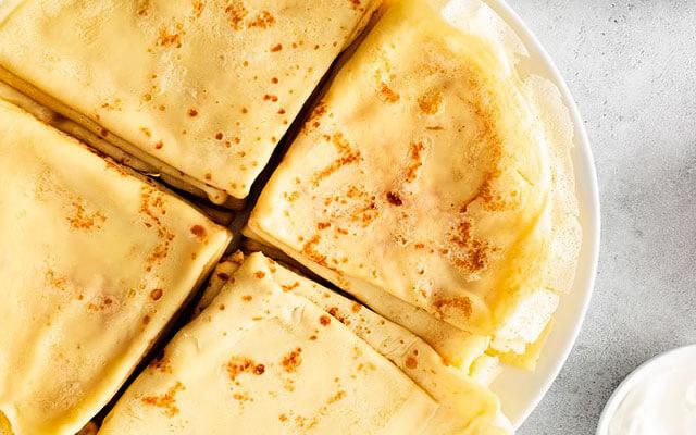 Как завести тесто на блинчики