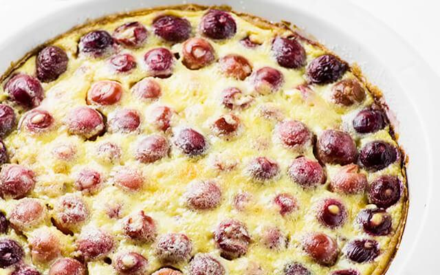 Клафути - пирог с вишней рецепт с фото