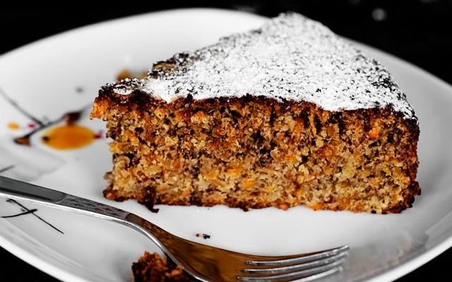пирог с грецкими орехами морковный рецепт с фото