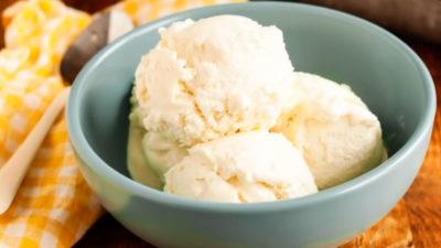 Мороженое из сливок и сгущёнки