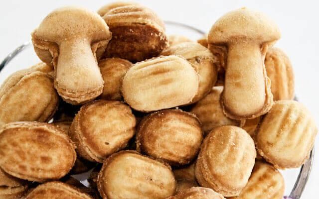 рецепт орешки со сгущенкой как приготовить тесто для орешков