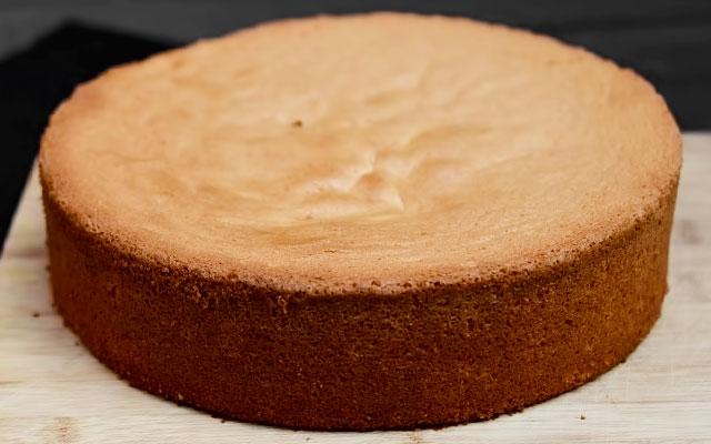 Бисквитное тесто рецепт простой с фото