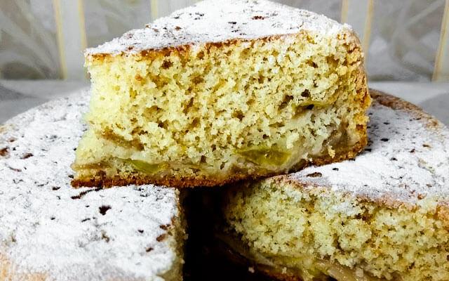 Вкусный заливной пирог в Панасонике