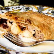 штрудель с яблоками рецепт классический с пошаговыми фото