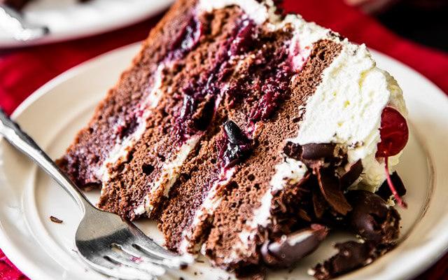 торт чёрный лес пошаговый рецепт с фото