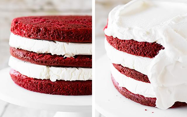красный бархатный торт рецепт с фото