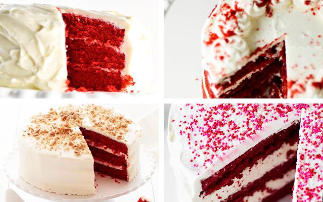 торт классический красный бархат рецепт с фото