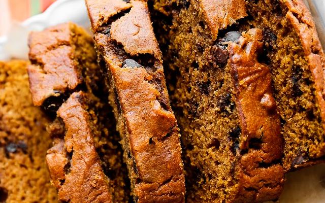 Пряный тыквенный кекс рецепт с фото