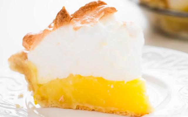 бисквит с лимоном рецепт