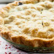 Песочное тесто для пирога с ягодами