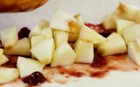 приготовление яблочной начинки для слоёного штруделя