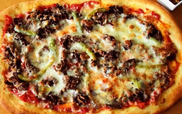 пицца с фаршем в домашних условиях