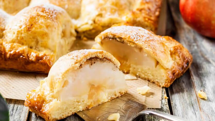 пирог. с яблоками рецепт
