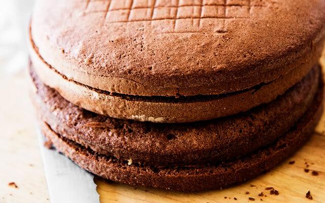 шоколадное бисквитное тесто рецепт с фото