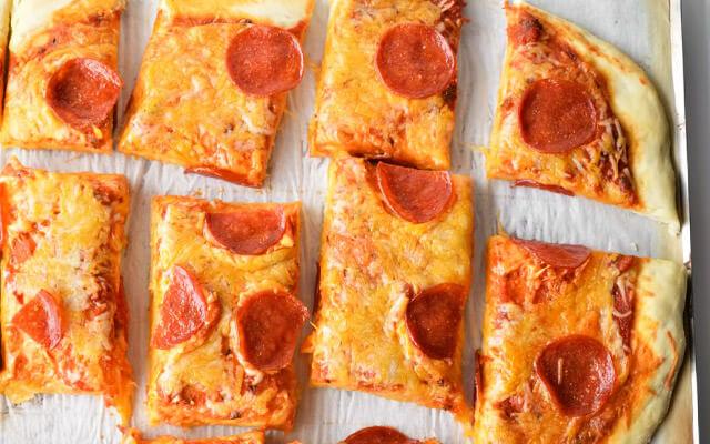 Пицца тесто без дрожжей рецепт с фото пошагово