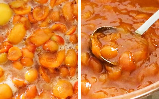абрикосовое варенье без косточек время варки
